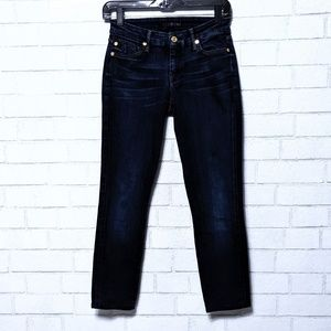 7 For All Mankind Skinny Jeans 25 *Altered*